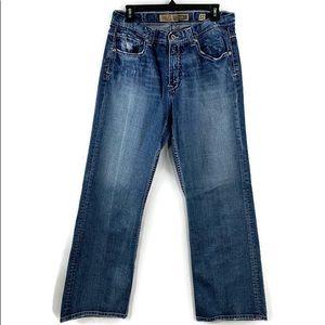 BKE Buckle Tyler Straight Leg Men's Blue Jeans